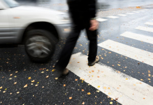car vs pedestrian accidents and injuries
