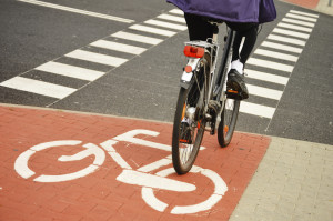 bicyclists and pedestrian injuries